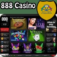 gioca su 888 casino