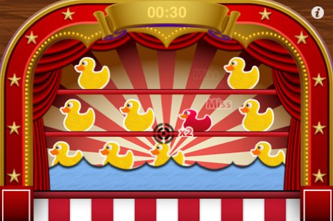 gioco duck shoot