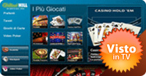 william hill casino giochi dal vivo
