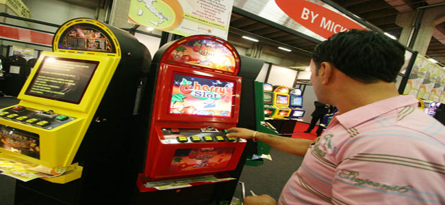 manomissione slot machine