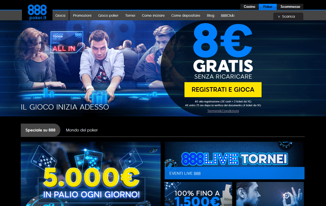 888 poker sign up bonus